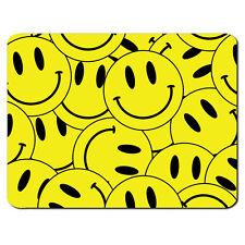 amarillo cara sonriente COLLAGE Drogas Éxtasis Píldora Alfombrilla de ratón pc