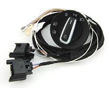 VW Golf V 5 MK5 H11 NSW Nebelscheinwerfer Kabelbaum cable + Lichtschalter switch