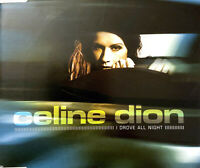 Céline Dion Maxi CD I Drove All Night - Europe (EX+/VG+)