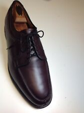 Allen Edmonds Stockbridge Burnished Chili Burgundy Leather Dress Shoes Derby