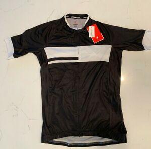 Specialized Men UPF50 reflexsun Cycling biking Jersey size M black, New with tag