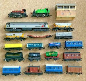 Hornby Class 47 + 2 Steam Locos + Mega Box of Bits !!!!! - No RESERVE !!!!!