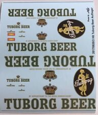 Tuborg Beer Auflieger Decals 1:87 oder H0
