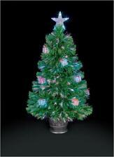 80cm Green Parcel Fibre Optic Christmas Tree - PRO ELEC