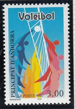 TIMBRE ANDORRE FRANCE NEUF N° 486  **  SPORT VOLLEY BALL
