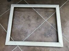 More details for early 1900s quality oak picture frame ( well constructed )