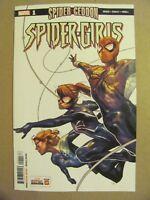 Spider-Girls #1 Marvel Comics 2018 Series Spider-Geddon 9.6 Near Mint+