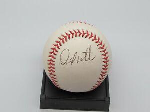 David Weathers Autographed American League Baseball Beckett COA