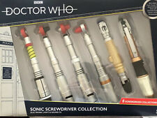 Doctor who  3rd 4th 5th 8th 10th 11th Doctor  sonic screwdrivers collector Set