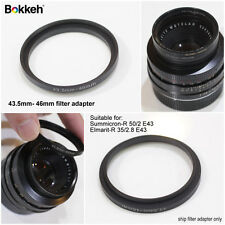 Bokkeh 43.5mm-46mm (Leica E43) Step-Up Filter Adapter
