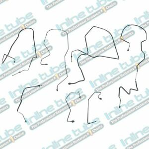 1997-01 Ford Expedition Lincoln Navigator 4WD ABS Brake Line Kit 7pc, OE Steel