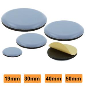 PTFE Teflon Furniture Glides Protector Self Adhesive Various Sizes Glider-Slider