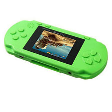 PXP 3 Game Console Handheld 16 Bit Game 150 Games For Kids Children Gift Green