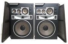 Vintage Very Rare Pioneer CS-822A CS822 Speakers 4-way 5-Speaker