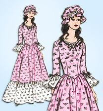1970s Vintage Mail Order Pattern 9437 Uncut Misses Bicentennial Costume Sz 34 B