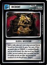 Star Trek CCG All Good Things Bluegill Infestation 6P