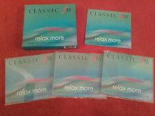 "CLASSIC FM - ""Relax More""  3 Disc CD Box Set. 2000. Near Mint - Excellent"