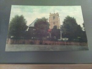 Vintage Wylam Church  Ruddock Postcard .not posted.