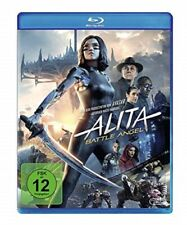 Alita: Battle Angel Blu-ray Neu Originalverpackt James Cameron,Robert Rodriguez