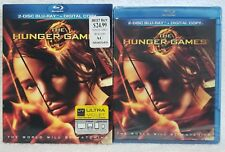 THE HUNGER GAMES (Blu-Ray Disc 2012, 2-Disc Digital Copy Set) Violet New Sealed