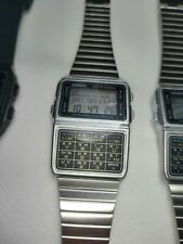 1 X Casio DBC-610 Silver NOS