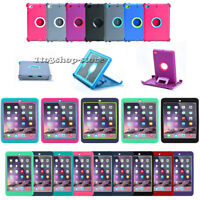 iPad Mini 4 ONLY Defender Shockproof Hard Shell Rugged Case w/Stand Cover