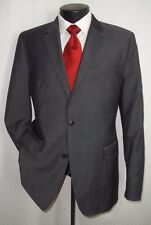 Red Label Hugo Boss Gray Textured 2 Buttons Wool Blend Jacket Coat 40 R