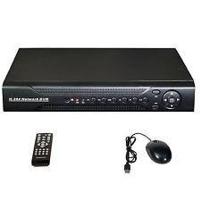 CCTV 8ch Hybrid DVR NVR Analog 8 x D1, IP 8x 1080P Onvif Network Surveillance
