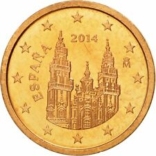 [#580401] Spanje, 2 Euro Cent, 2014, FDC, Copper Plated Steel