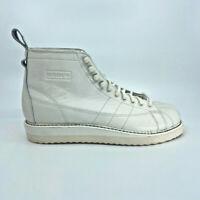 Adidas Originals Superstar Boot Sneaker Leder Weiß Schuhe Damen Turnschuh Neu