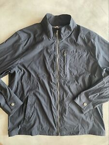 ORVIS Jacket Mens XL Full Zip Windbreaker Black