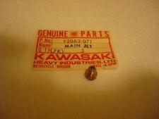 NOS Kawasaki G4TR KD125 KE125 1972 H1 Mach III KZ650 KZ1000 Jet Main 92063-071