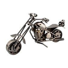 Vintage Retro Craft Metal Art Motorcycle Model Handmade Toy Home Decoration Gift