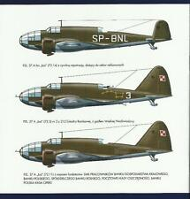 "PZL.37 ""LOS"" POLISH MEDIUM BOMBER PLANE *** OUT OF PRINT, LAST COPIES"