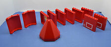 LEGO Wand Mauer Paneele rot 59349 30562 Dach 6121 gemischt   red panel wall roof