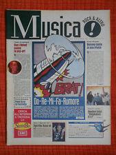 rivista MUSICA ! REPUBBLICA 27/1995 Alanis Morissette Velvet Underground No cd