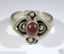 Karneol Ring 925 Silber Top