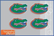 Florida Gators 4 PACK OF GATOR HEAD LOGOS Vinyl Decals Car Truck iPhone Sticker