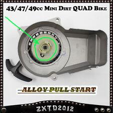 Alloy Pull Start/Starter 2 Stroke 43/47/49cc Mini Dirt/Pit Pocket  ATV Quad Bike