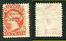 Used Canada Misperforated 6 Cent Bill Stamp #FB23 (Lot #5472)