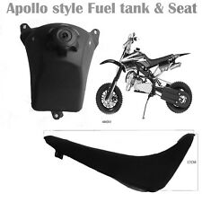 APOLLO FUEL PETROL TANK & SEAT PIT BIKE 110CC 125CC ORION/TDR/FOXICO/MOTORCYCLE
