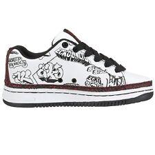 Skateboard Sneakers  Marc Ecko Vintage White/Black Clout II Boys SZ 11 M SALE!