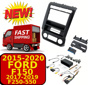 2015-2020 FORD F150 PAC RPK4-2201 DOUBLE DIN CAR RADIO DASH KIT W/ A/C PANEL