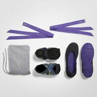 WMNS Nike Studio Wrap 4 ComfertableTraining Dancing Gymnastic PURPLE BLACK