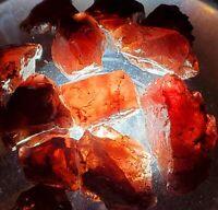 300+carats Lot Larger Natural Garnet Rough Crystals Africa