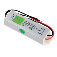 Waterproof DC12V IP67 15W LED Driver Power Supply Transformer
