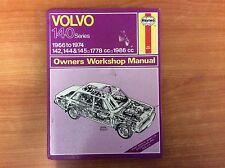 Haynes Volvo 140 Series Owners Workshop Manual - 1966/1974