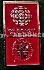 CBC RADIO PAPAL VISIT 1984 CANADA MEDIA Lapel Pin