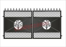 DRIVEWAY GATES /METAL GATES / COMPOSITE WOOD GATE/ SLIDING GATE/BI FOLDING GATE