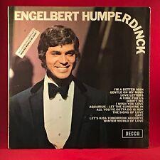 ENGELBERT HUMPERDINCK Engelbert Humperdinck 1969 UK  vinyl LP EXCELLENT COND  b